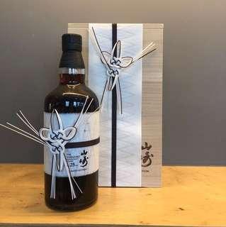 山崎威士忌25年 限量版