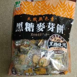 昇田黑糖麥芽餅~500g
