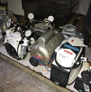 Industrial or engineering vacuum pump fr. $50 onwards