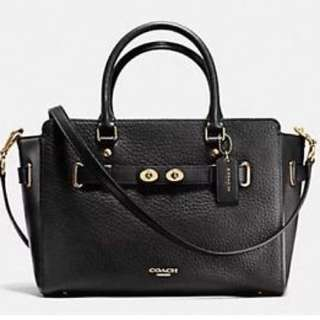 Coach 全新F35689 Bubble Leather 手袋