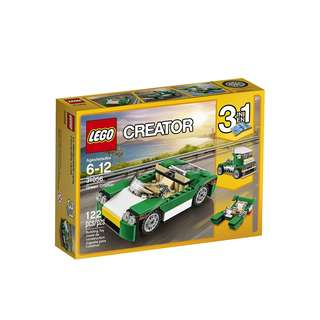 LEGO Creator 3 in 1 Green Cruiser 31056 Building Toy 122pcs