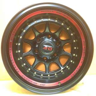 16 inch SPORT RIM 4x4 AD V4 OFFROAD RACING PROMOTIONS