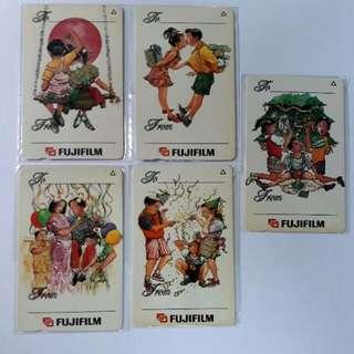 Vintage Phonecards (Valentine/Love/Calendar)