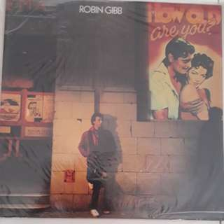 Robin Gibb How Old Are You Vinyl LP Record
