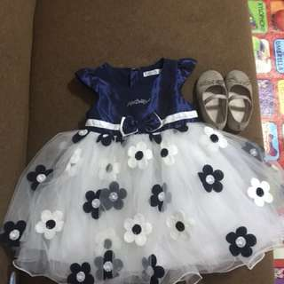 Baby Girl Dress and shoe