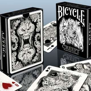 Bicycle Creepy👻 Playing Cards