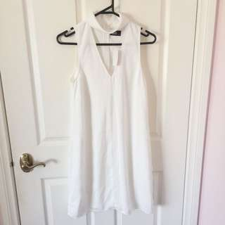 White Dotti Dress (BNWT)