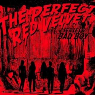 [GROUP ORDER] RED VELVET THE PERFECT RED VELVET