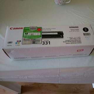 Original canon laser cartridge 331 black