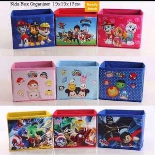 $5 kids box organiser storage birthday door gift