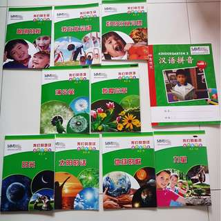 Excellent condition Modern Montessori International MMI Chinese reading set for K2 exclusive - Paid $100+