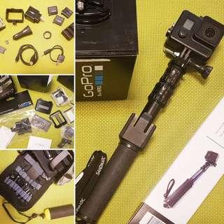 GoPro Hero 4 with original accessories!