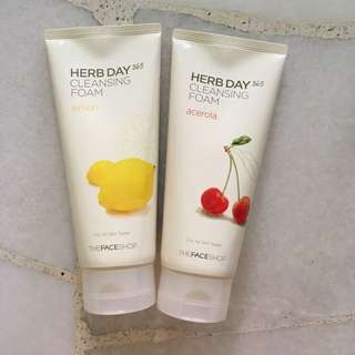 The Faceshop Herb Day Cleansing Foam