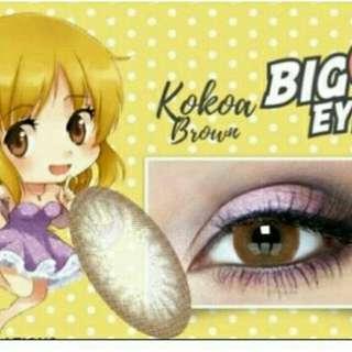 Softlens big eye