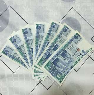 Singapore Dollar Currency