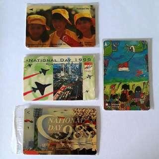 Vintage Phonecards (NDP/Singapore's Vanishing Entertainment Trade)