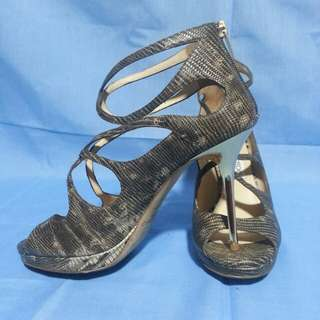 Authentic Jimmy Choo Snakeskin Size 37 1/2