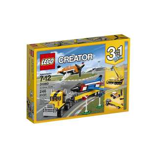 LEGO Creator 3 in 1 Airshow Aces 31060 246pcs Building Toy