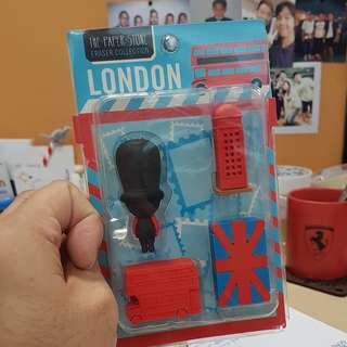 London Eraser Collection
