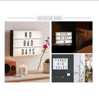 Lightbox (A4 size) FREE DELIVERY