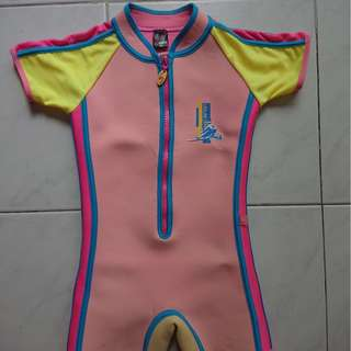 Swimming suit thermal