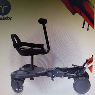 buggy board + seat