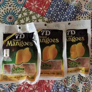 芒果乾3包