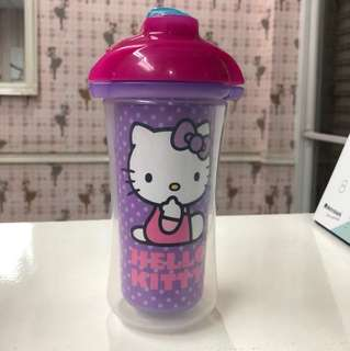 Munchkin Hello Kitty Straw bottle