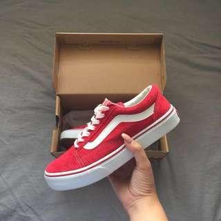 Red Old Skool Vans