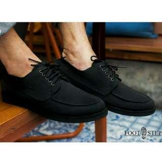 HUGO - Vintage Classic Sepatu Pria - Black - 39-44