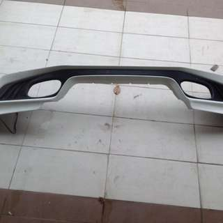 Honda Jazz front skirt & rear skirt ABS (ori)