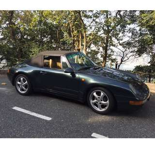 PORSCHE 911 (993) CABRIOLET (PRICE REDUCED!)