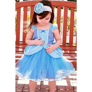 Cinderella dress princess dress for toddlers and girls 1-5y