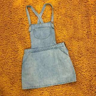 Mango Kids Denim Skirt