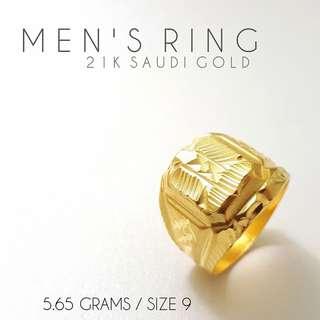 21KARAT SAUDI GOLD RING