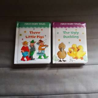 Fairy Tales story - Three little pigs and The ugly duckling