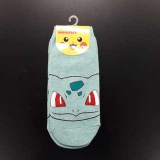 Cute Korean socks - Pokemon - Bulbasaur
