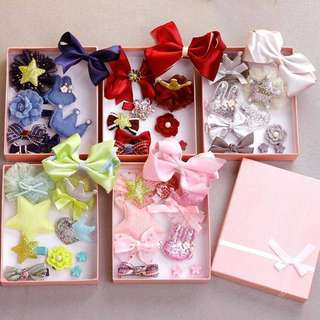 Baby & Kids Hair Accessories Sets 10pcs
