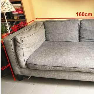 Very comfortable sofa(fabric)