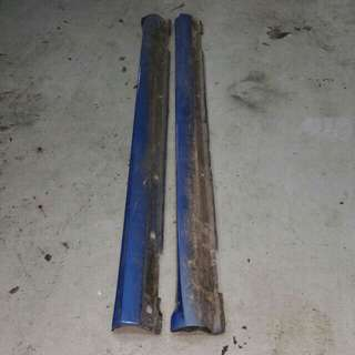 Subaru Impreza Hawkeye STI Side Skirt