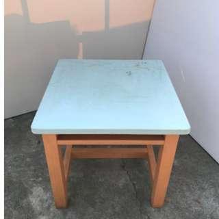 原創刷色彩繪書桌/撞色小方桌/小學生課桌/實木書桌/電腦桌/書桌/辦公桌/學生書桌/寫字檯 A1263