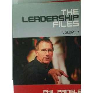 Book The Leadership Files Volume 2-Phil Pringle