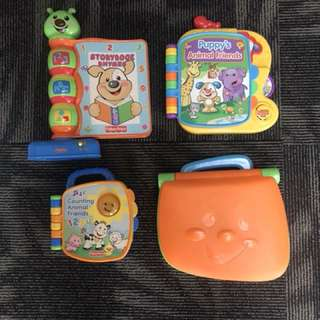Super deal of Fisherprice Educational Laptop&SmartBooks