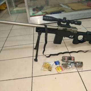 Sniper airsoft pellet toy gun