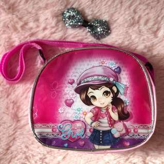 Pink Cutie Bag / sling bag
