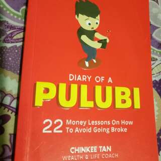 Diary of Pulubi with Author's Signiture