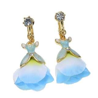 Japan Disneystore Disney Store Cinderella Dress Spring Jewelry Earrings