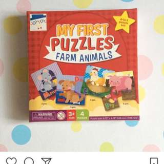 My First Puzzle Animals