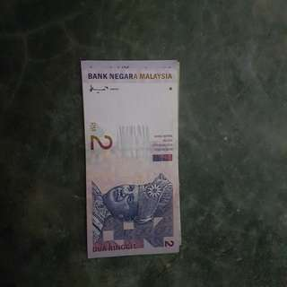 This malaysia Old money RM2