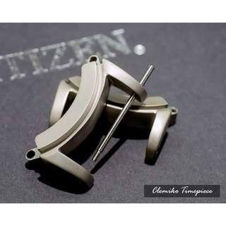 Citizen Eco-Drive PROMASTER DIVER'S 錶耳 ( 適合型號 : BJ8050 煙灰缸 / 材質 : [ Titanium 鈦] / 錶耳濶度: [ 24mm ] / 包即場更換安裝 )(可簽卡/現金交易)01/24